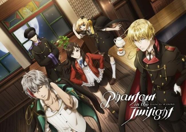 TVアニメ『Phantom in the Twilight』新キャラクター&キャストを公開!