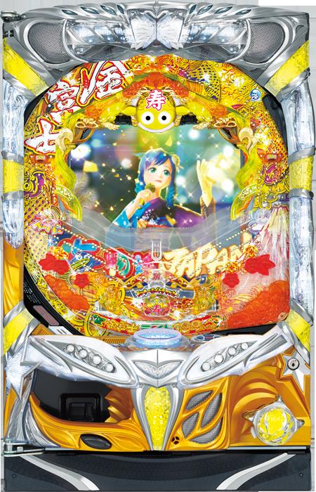 CRスーパー海物語 IN JAPAN 金富士バージョン ライトSCA