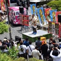 ニューギンが前田慶次供養祭に参加
