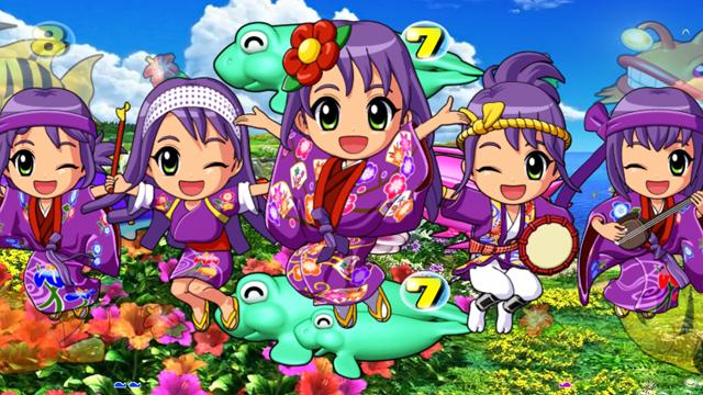 『CRスーパー海物語IN沖縄4』ミニキャラSU4