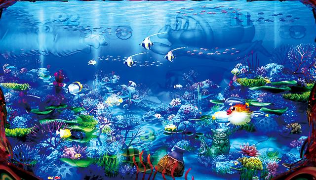『CRスーパー海物語IN沖縄4』ハリセンボン1匹