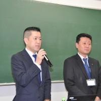 全遊振_べラジオの吉田社長と森川専務(左から)
