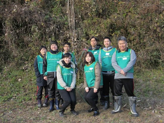 ダイナム、桜ライン311主催「秋の植樹活動」に参加
