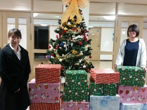 ガイア、福祉施設17箇所にお菓子・雑貨を寄付