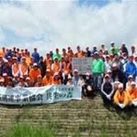 ABC、仙台荒浜「日遊協共生の森」ボランティア活動に参加
