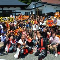 ニューギンが今年も前田慶次供養祭に協力
