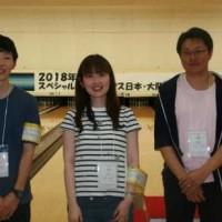 アサヒディード、2018年スペシャルオリンピックス日本・大阪地区ボウリング競技会ボランティアに参加