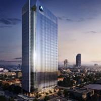 マルハングループ会社と韓国ロッテE&Cがカンボジアにサタパナ銀行新本店ビル建設契約書に合意