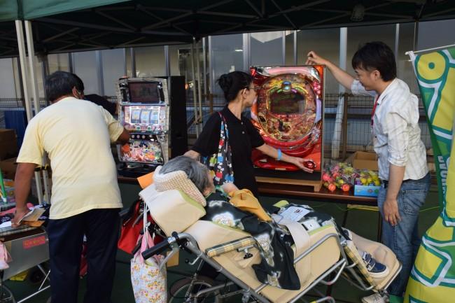 島田療育センターを守る会、恒例の夏祭り支援
